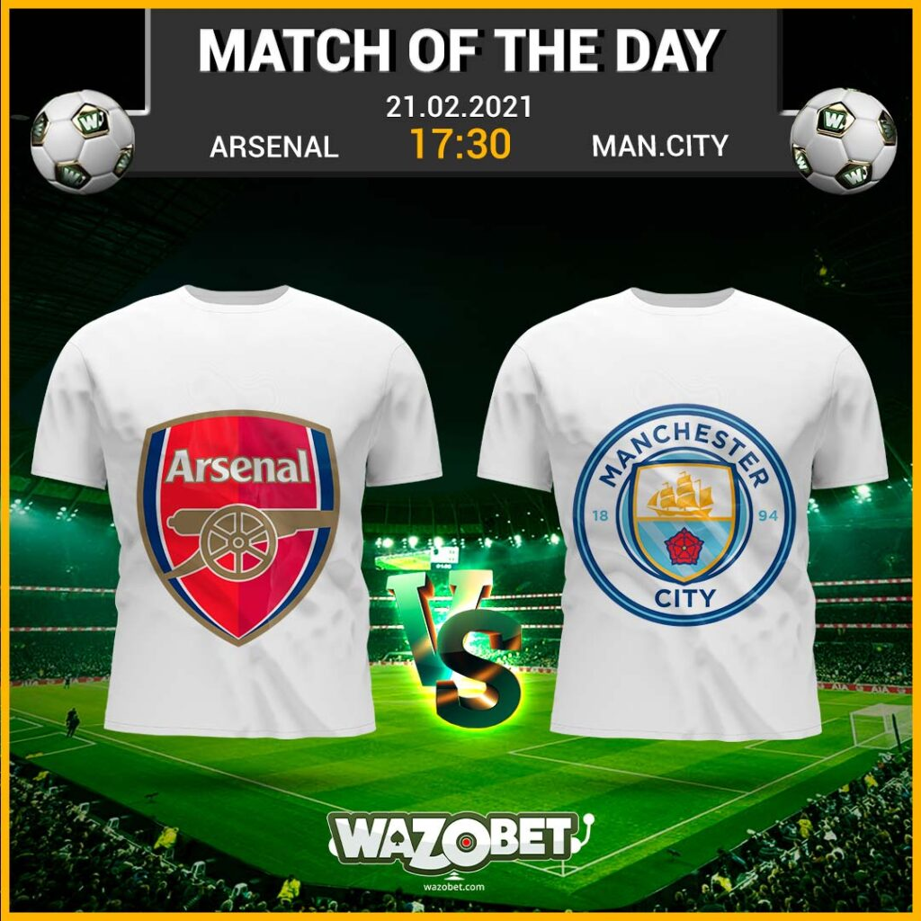 Arsenal vs Manchester City - Free Football Tips - (21/02/2021)