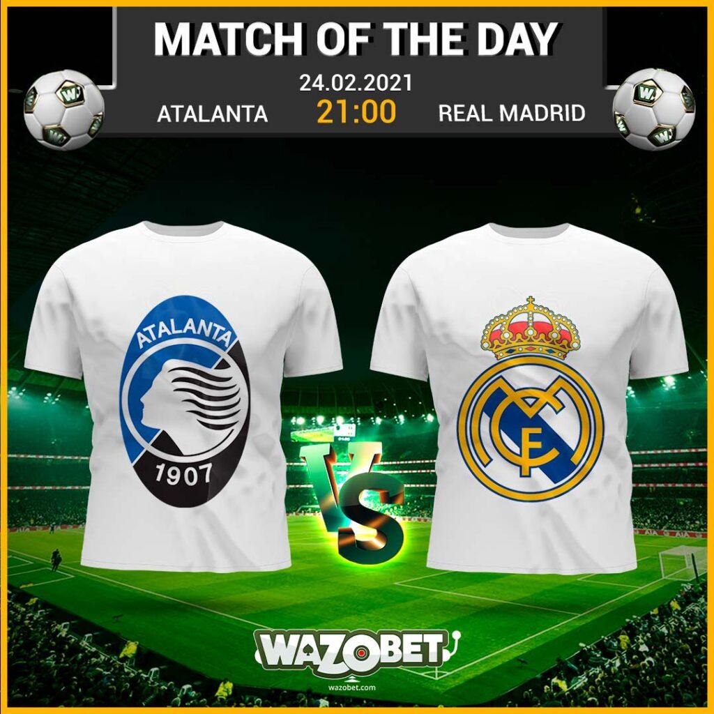 Atlanta vs Real Madrid - Free Football Tips - (24/02/2021)