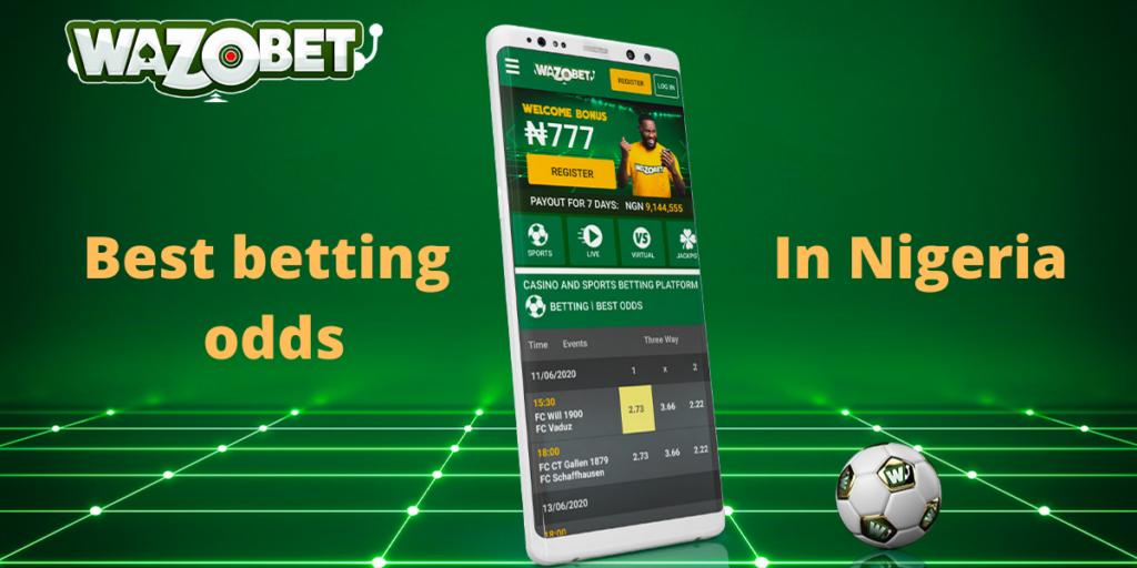 Best betting odds in Nigeria - Wazobet